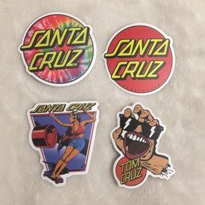 Santa Cruz Sticker Pack